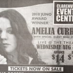Clarenville Packet Ad for Amelia Curran at The CEC