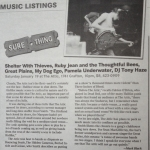 Coast Coverage of My Dog Ego at The Attic