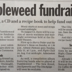 Daily News Coverage of 5th Tumbleweed Festival